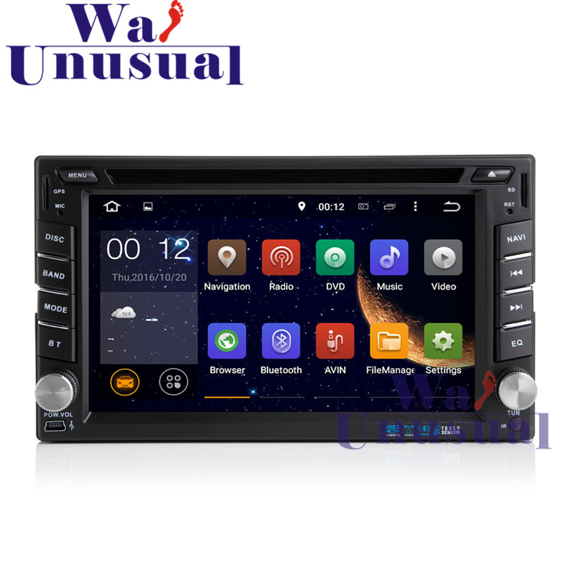 Free Shipping 6.2 Inch 2 DIN Android 7.1 Car Radio Player