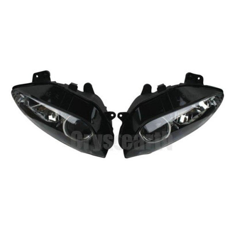 1 Pair font b Motorcycle b font font b Headlight b font Front Head Light Headlamp