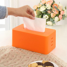 Buy Plastic Tissue Box Cover Creative Facial Expression Paper Boxes Toilet Dispenser For Napkins Cute Tissue Holder Caja Tissue directly from merchant!