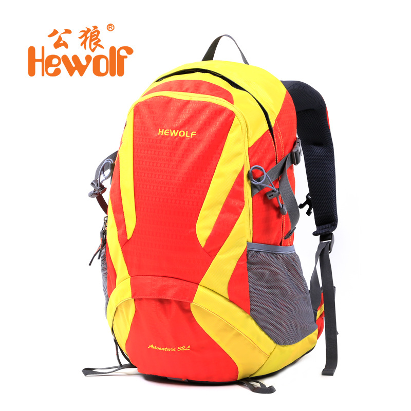 Hewolf New Professional Climbing Bags Outdoor sport travel backpack mountain backpacks camping hiking backpack professional climbing outdoor sport waterproof bags backpacks camping hiking traveling mountain bags backpacks 45l hot sale