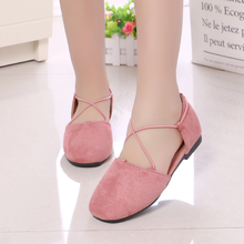 COZULMA Girls Fashion Shoes 2019 Spring Summer Kids for Princess Leather Dress Children Casual Sandals Flats