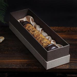 Image 2 - Handmade kreatywny hollow orzech stojak kadzidło palnik drewno kadzidło grzejniki leżące kadzidło box gorąca sprzedaż