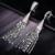 De Calidad superior Clear Gem Drop Pendientes de Circón Cúbico Micro CZ Cristal Borla Pendientes de La Joyería Para Las Mujeres