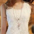 2017 nova safra bralette rendas cinta topo spaghetti camisole das senhoras preto branco sexy mulheres crochet top colete mais