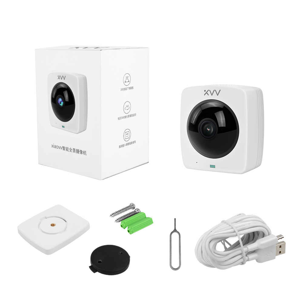 2,8 мм купол объектива IP Камера 1080 P безопасности Крытый panoranic IP самера день/Ночной вид домашний H.265 Камеры Скрытого Наблюдения