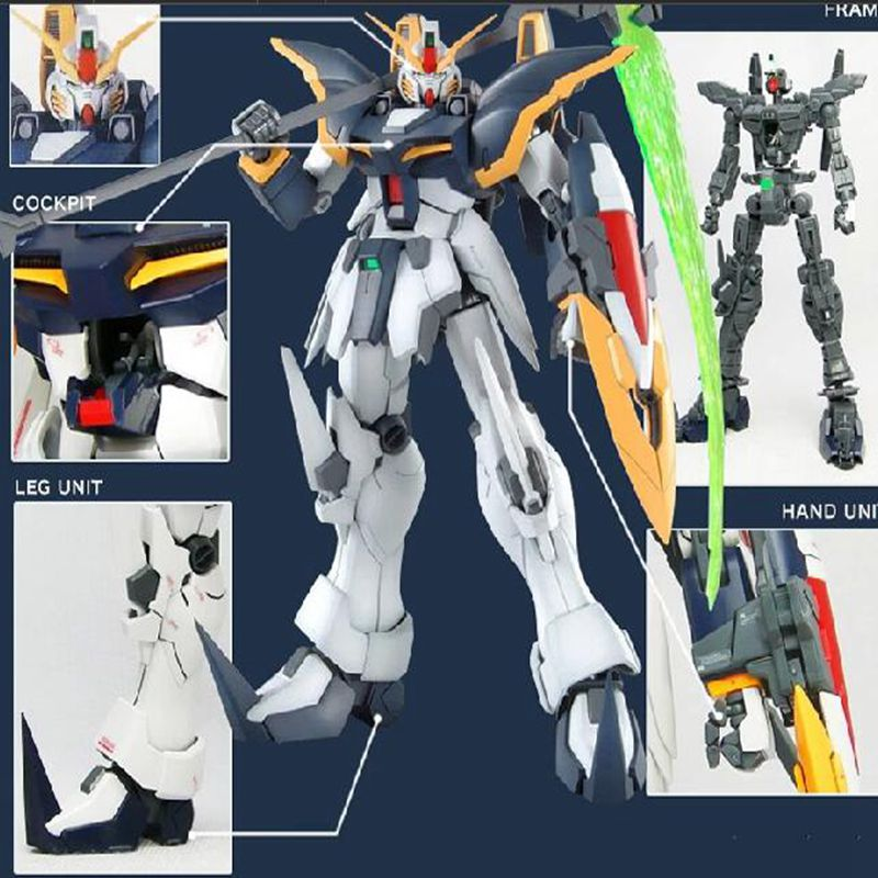 New anime  action figures robot anime assembled Gundam MG 1:100MG God Of Death luminous stickers classic toy gundam kids toys free shipping action figures robot anime assembled gundam mg 1 100ew wing zero gundam luminous stickers original box gundam