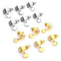 6 stücke Gitarre Locking Tuner Gitarre String Pegs Mechaniken String Getriebe Verhältnis Für 6R Inline Musical Instrument Gitarre Zubehör
