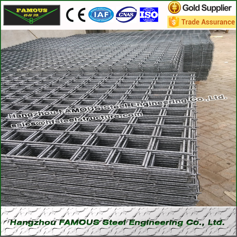High Strength HRB500E Steel Mesh Reinforcing Steel Rebar For Steel Buildings SL52 6.0m*2.4m