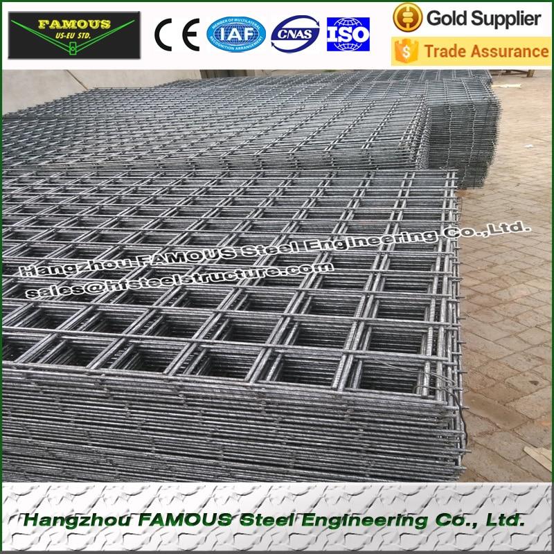 High Strength HRB500E Steel Mesh Reinforcing Steel Rebar For Steel Buildings SL52 6.0m*2.4m
