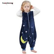 Детское одеяло; пижамы для маленьких мальчиков; комбинезоны для девочек с рисунком кигуруми; комбинезон; одежда для детей; фланелевые пижамы; детский спальный мешок