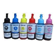 70ml 6 PCS Universal Refill Ink kit for Epson L800 L801 L805 L810 L850 L1800 L351 L353 L551 Printer ink cartridge ciss 6color