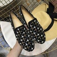 2019 популярная женская обувь на плоской подошве с мягкой подошвой, удобная повседневная обувь на плоской подошве, женская обувь без застежки