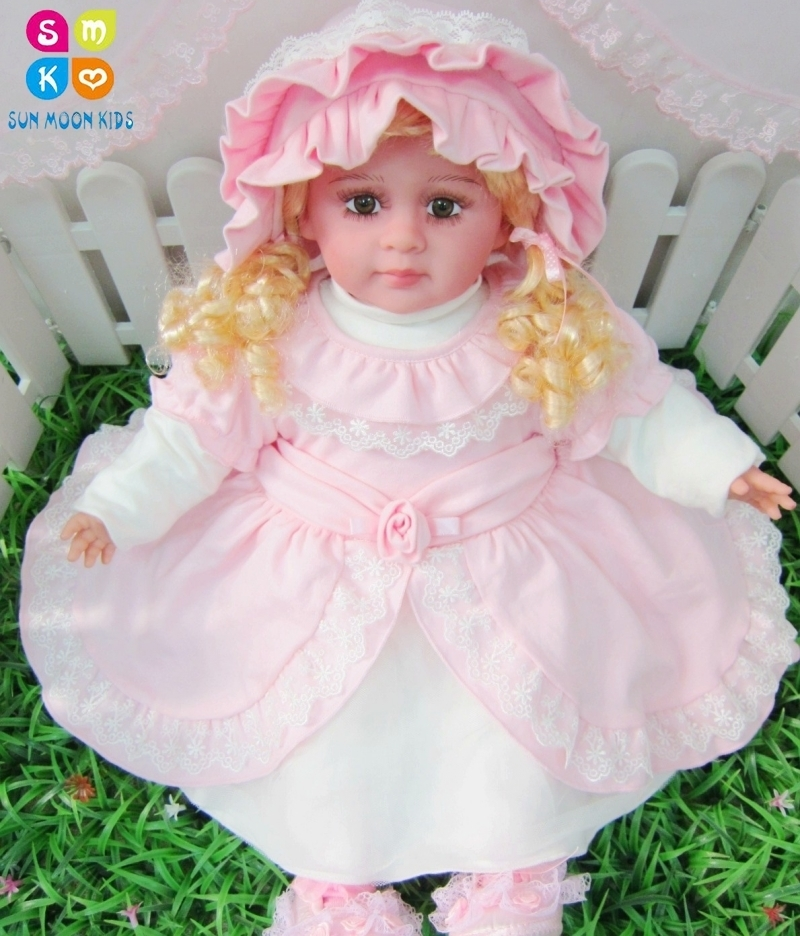 Здесь можно купить  2016 Autumn Infant Wedding Dress Baby Party Dresses + Hat 6m-18m Birthday Dress Pink Infant Baby Dress Children Clothing  Детские товары