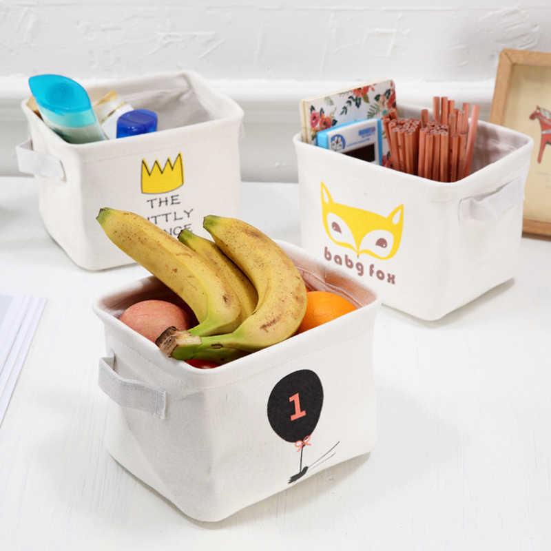 Utilitário Papelaria Lona Fresco Cesta de Lavanderia Do Bebê Brinquedos Mesa da tabela Alça Dobra Saco De Piquenique Bolsa De Armazenamento Organizador Caixa Container