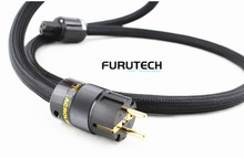 HIFI Audio Power Cable Furutech Power Cord with US AU EU Plug 4N AC cable line hifi audio amp cd cable power line audio us power cord cable hifi audiophile power cable