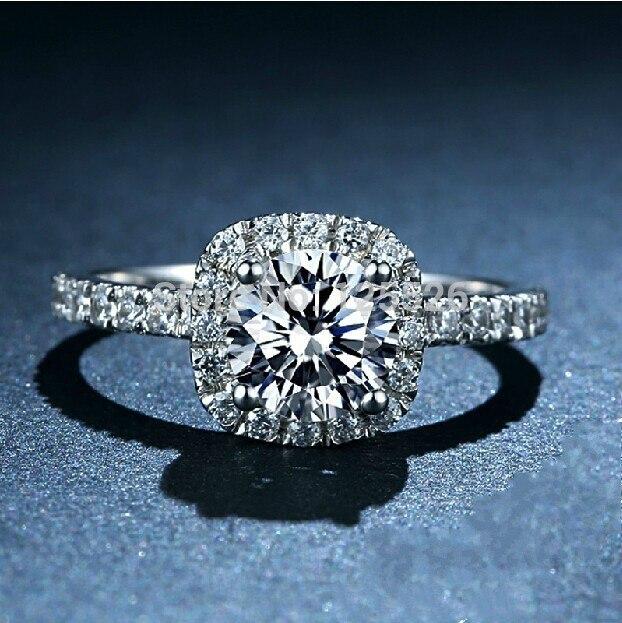 Victoria Wieck bijoux nobles dame AAA CZ simulé pierres 10KT or blanc rempli bague de mariage ensemble taille 5-11 livraison gratuite cadeau