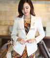 2013 autumn short jacket high quality elegant long-sleeve slim blazer corsage dy-c545