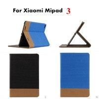 Brand Luxury Classic Splicing Color Pattern PU Leather Case Book Cover For Xiaomi Mipad MI Pad