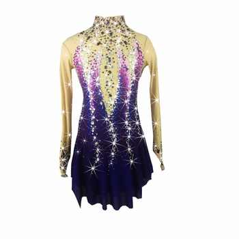 BHZW Figure Skating Dress Women\'s Girl\'s Ice Skating Dress Spandex - SALE ITEM Novelty & Special Use