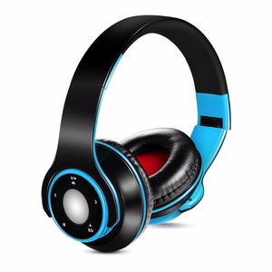 Image 3 - Fashion Bluetooth 5.0 Over ear Stereo headphones Sport Foldable Wireless Sweat proof Headset with Microphone for Running Calls