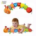 Recomendar Pano chocalhos de música multifuncional brinquedos educativos crianças Bebê animais fantoches de mão para crianças WJ167