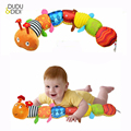 Recommend Cloth multifunctional educational children toys Baby rattles of music hand puppets animals for kids WJ167