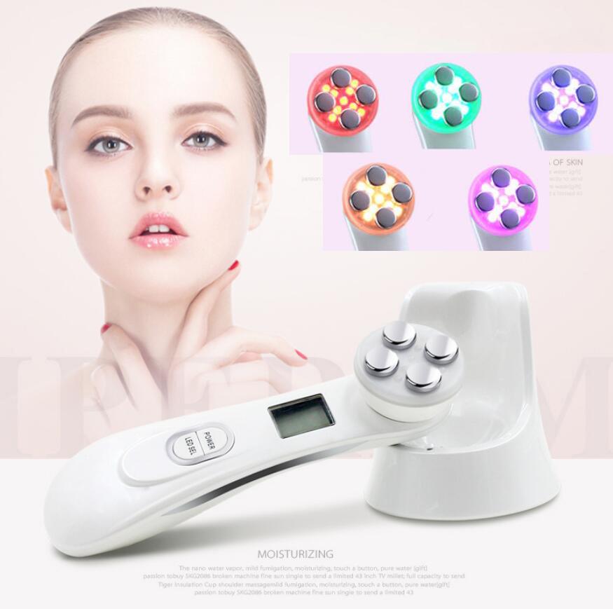 Dispositivo multi-funcional belleza electroporación mesoterapia rf radio frecuencia facial led fotón cuidado de la piel para el cuidado de la salud