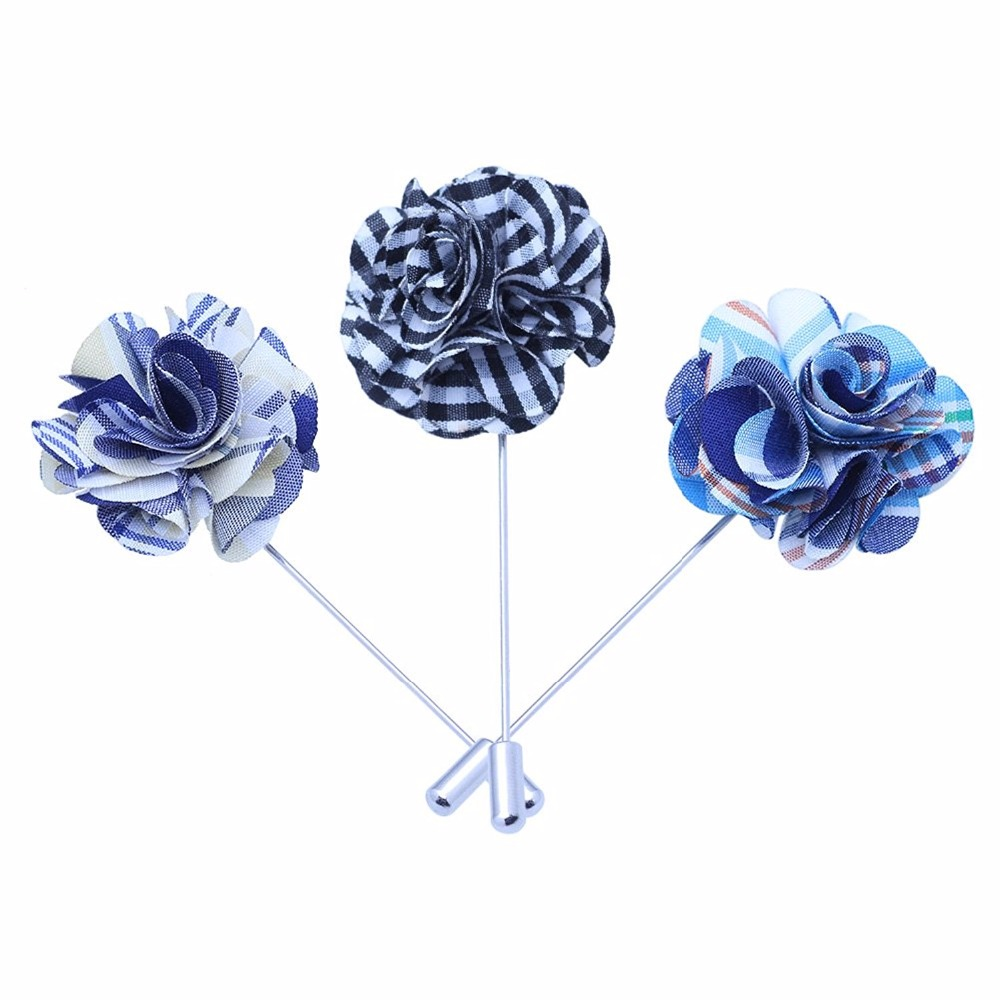 KBAP Vintage Lapel Pin Flower Men Suit Decoration