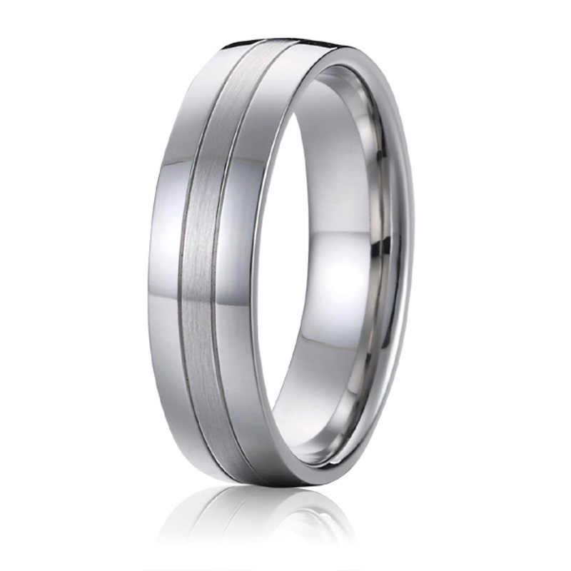 Men S Alliances Titanium Wedding Band Promise Couple Rings For Men