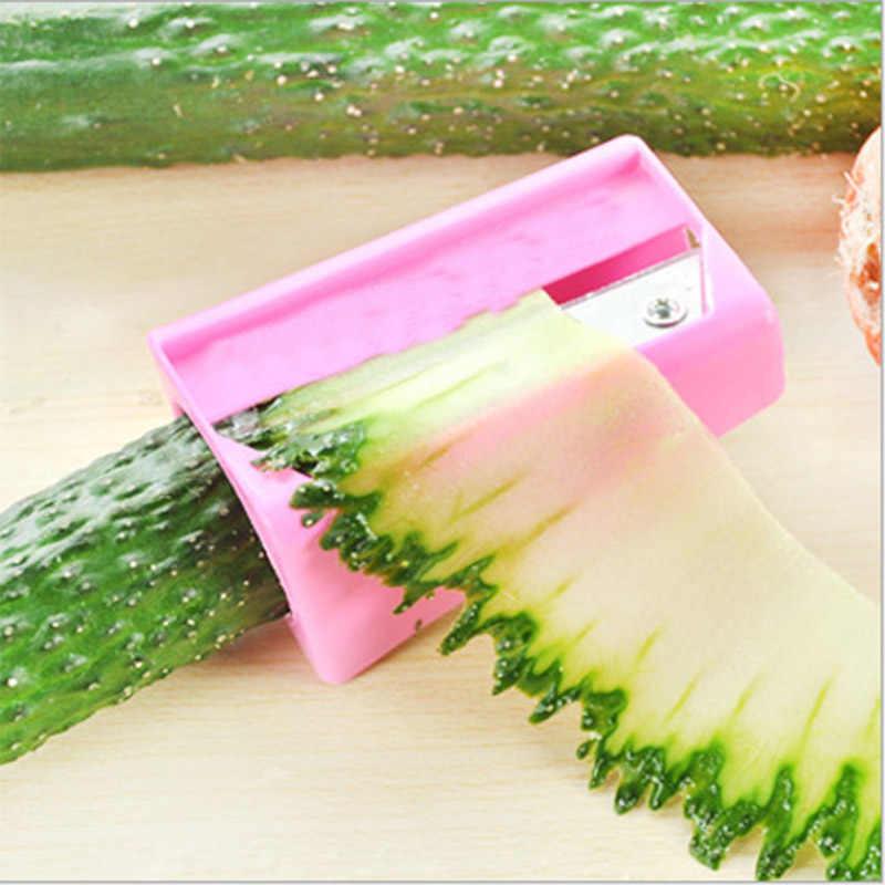 Làm cho Lên Mặt Nạ dưa chuột dưa chuột slicer vẻ đẹp mặt nạ Dưa Chuột cắt vẻ đẹp thiết bị Nhà Bếp Tiện Ích Công Cụ Rau Quả Curl Slicer8