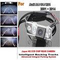 Câmera Car Estacionamento Para Audi A4 S4 RS4 2001 a 2014 CCD Noite Retrovisor Verson Smart Camera Back Up Faixas câmera