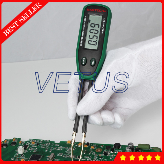 MS8910  Capacity measuring instruments with SMART SMD Tester Resistance Capacitance Diode Tester Meter Auto Scan Price  цены