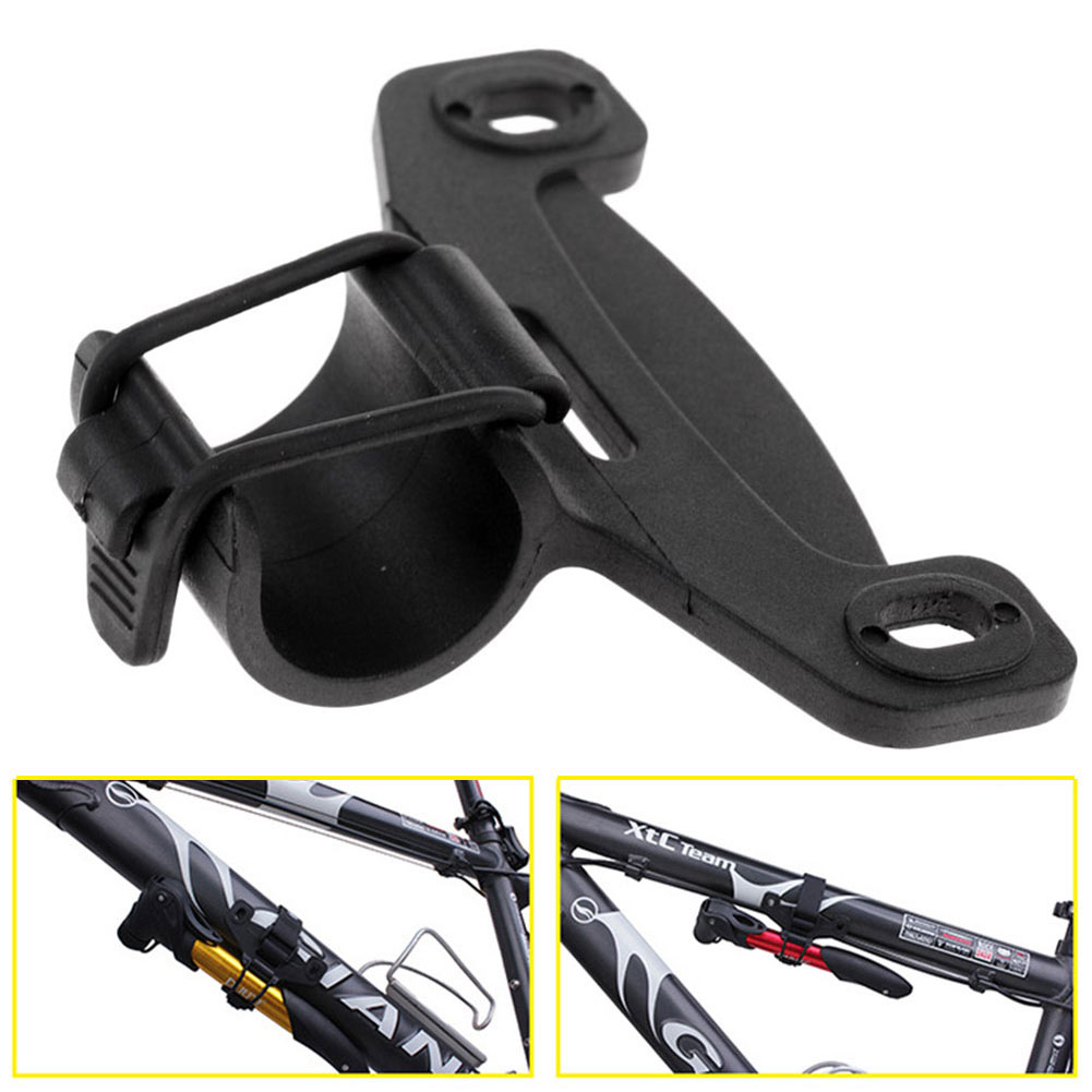 Nylon Portable Inflator Frame Fixing Clip Bicycle Pump Holder 20mm Durable Black