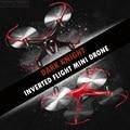Mini nano drones vôo invertido helicópteros jjrc h22 micro quadcopters rc dron profissional drones voando helicóptero de presente de natal