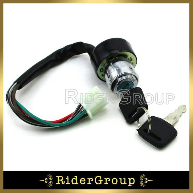 6 wires famle electric iron key switch for kazuma falcon 90 110 250 rh aliexpress com Roketa 150 Wiring Diagram Kazuma 50Cc ATV Wiring Diagram