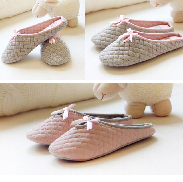 a8b87816332 Plush Ballet Home Slippers Plush Cartoon Toys Women Pantuflas Winter Slippers  Shoes Woman Chaussons Zapatos Mujer