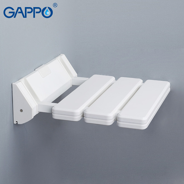 GAPPO wall mounted folding shower chairs for elderly toilet Shower ...