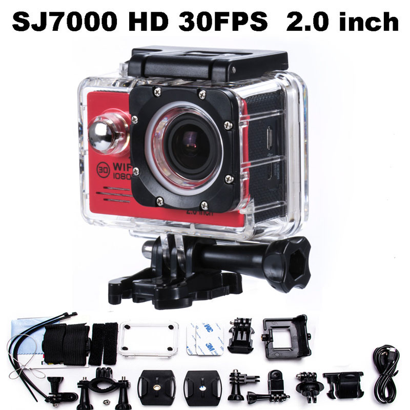 ФОТО SJ7000 STYLE 1080P FULL HD 12MP Action Camera Wifi Go Deportiva Pro Hero 4 Sport Cameras 1080P HD Kamera sj 7000 Mini Cam DV