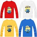 T-Shirts For Girls Boys Long Sleeve t shirt Children t shirts Kids tshirt Baby Children's Clothing Minions Baby Boy Girl Clothes