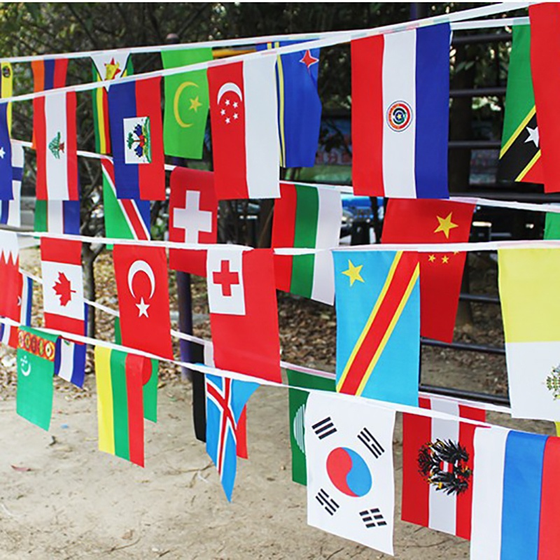 32 Flags String Flag Countries Around The World Nations Flag World Cup 32 Teams Olympic Games Hanging Flags Flags Banners Accessories Aliexpress