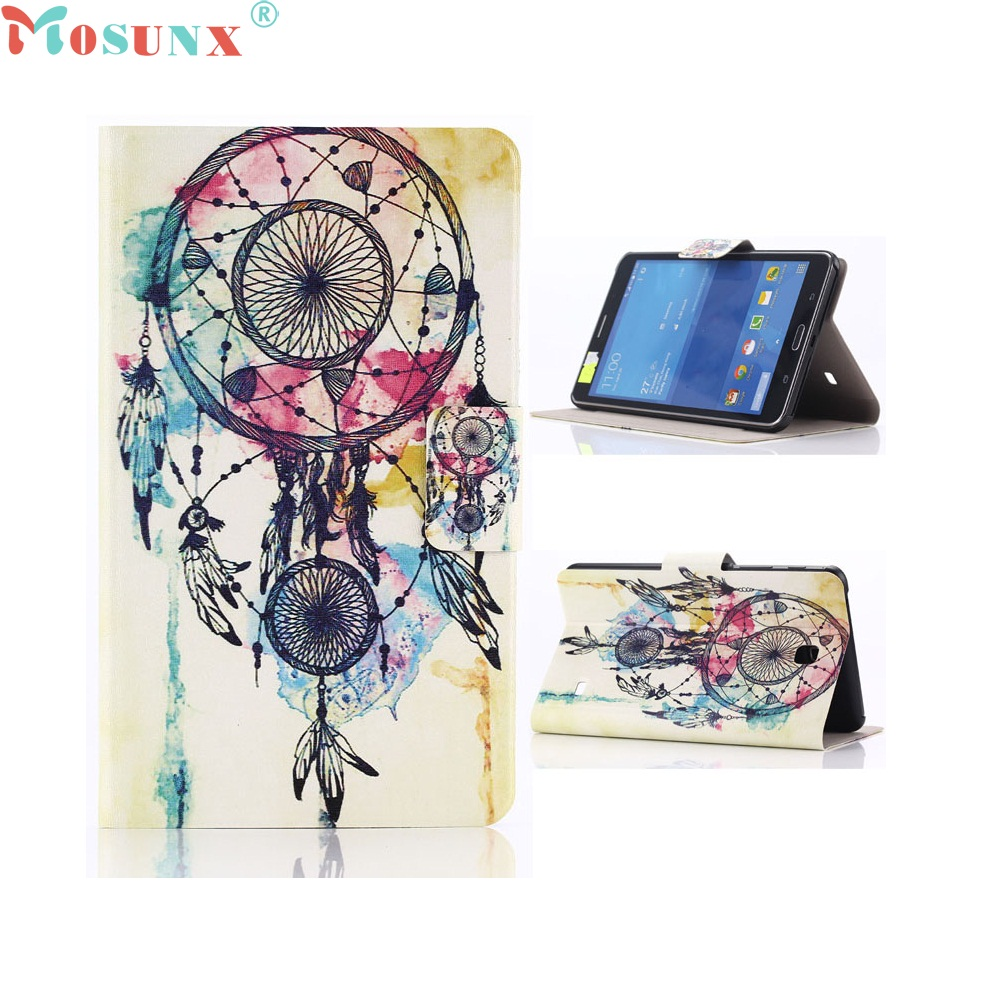 Beautiful Gitf New Leather Case For Samsung Galaxy Tab 4 7.0 7inch SM-T230 Wholesale price Jan06 beautiful gitf new luxury stand case cover for asus memo pad 7 me176c me176cx tablet wholesale price jan16