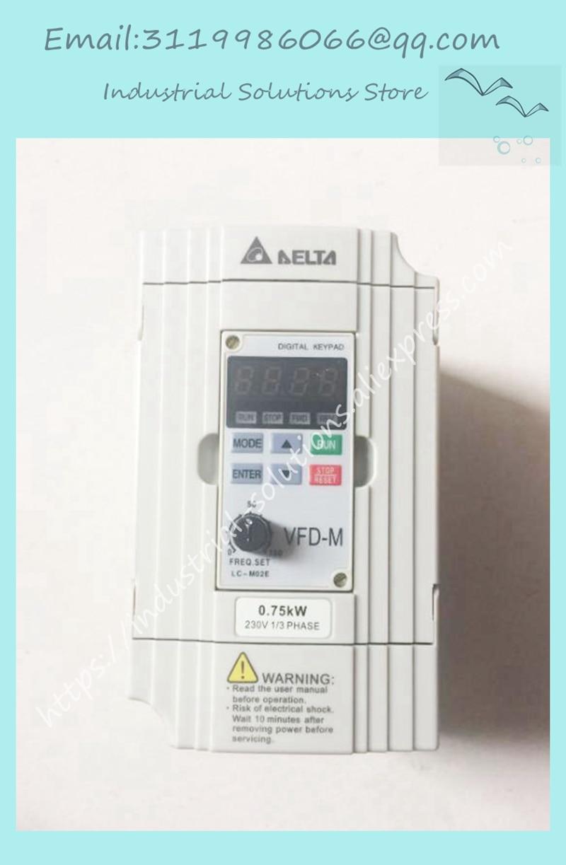 Inverter VFD007M21A 1Phase 220V 0.75kW 1HP 0.1~400Hz NewInverter VFD007M21A 1Phase 220V 0.75kW 1HP 0.1~400Hz New