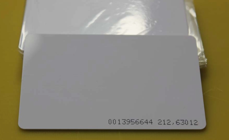 RFID UHF White Card UHF PVC Tag for Windshield/VIP Card- Samples uhf readers 18000 6b card 915 uhf long range card ic card uhf rfid paper tag sticker passive uhf paper windshied tag cheap tag