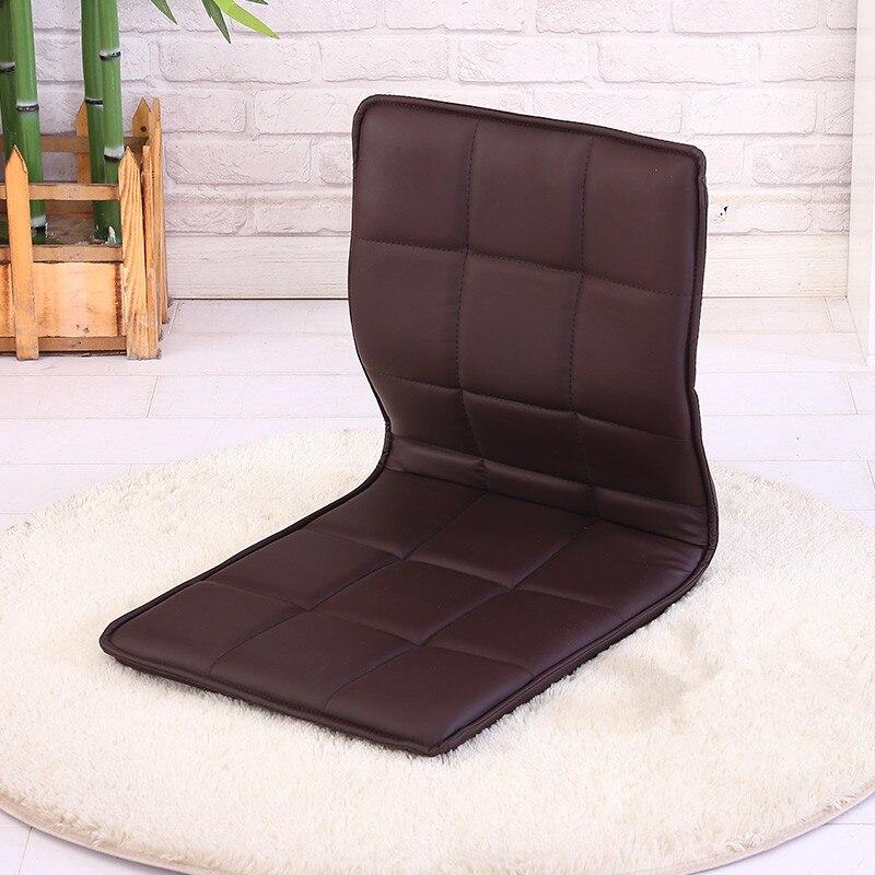 4 Teile Los Japanischen Stil Boden Leder Stuhl Wohnzimmer Mbel Moderne Freizeit Zaisu