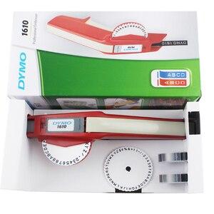 Image 3 - Impressora de etiquetas dymo 3d 1610 3 pz misturado preto, vermelho e azul 9mm 3d plástico gravando xpress manual etiqueta estéreo rotulação mach