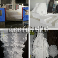 4 axis cnc machine cutting and engraving foam plastic wood 1325 1318 1530 2030 cnc router