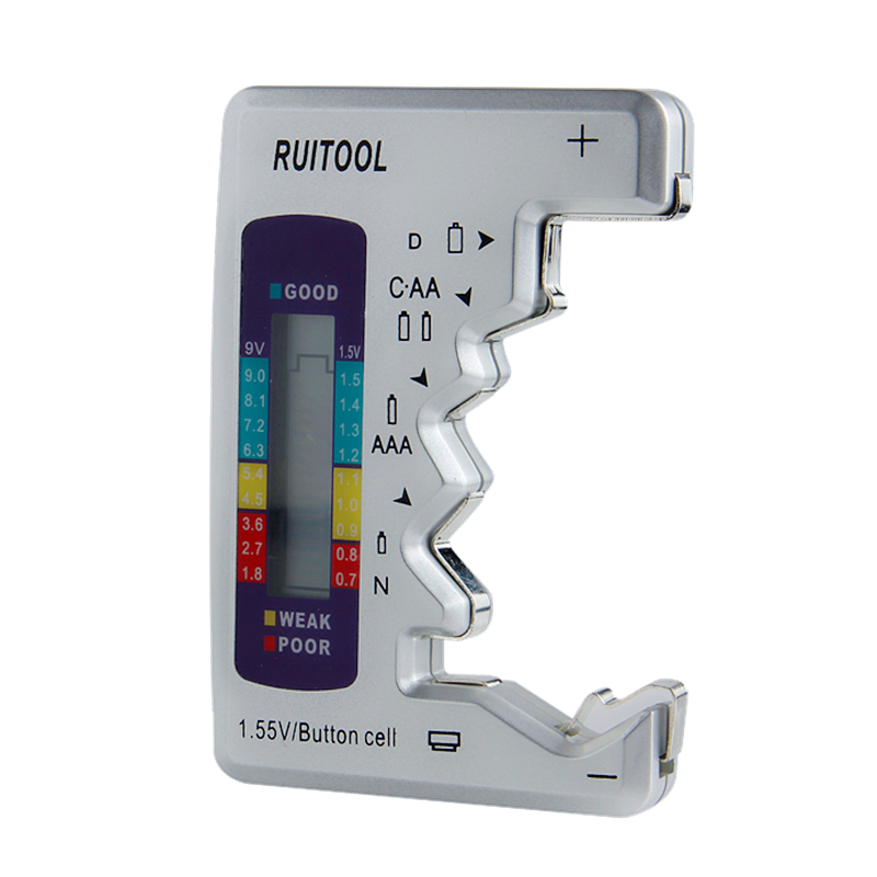 Skaitmeninio akumuliatoriaus testerio tikrinimo akumuliatoriaus - Matavimo prietaisai - Nuotrauka 6