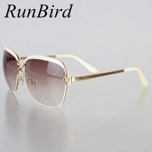 6f0e37f5b94a RunBird Mode Sonnenbrillen Frauen D Rahmen Beliebte Luxus Marke Designer  Shades Sonnenbrille Infantil Oculos De Sol Feminino R54.
