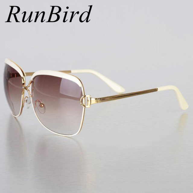 0035302a3a3 RunBird Fashion Sunglasses Women D Frame Popular Luxury Brand Designer  Shades Sun Glasses Infantil Oculos De Sol Feminino R547