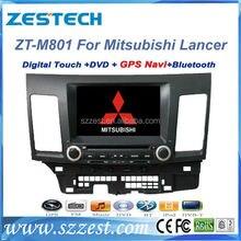 Free Shipping!ZESTECH 2 din 8 inch HD digital amplifier Car dvd gps for Mitsubishi Lancer EX